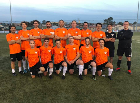 2019 Taroona FC Mens Pre-Season