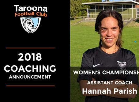 2018 Women's Championship Assistant Coach