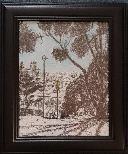 Anne Johnston - Old Gas Lamps Albert Park