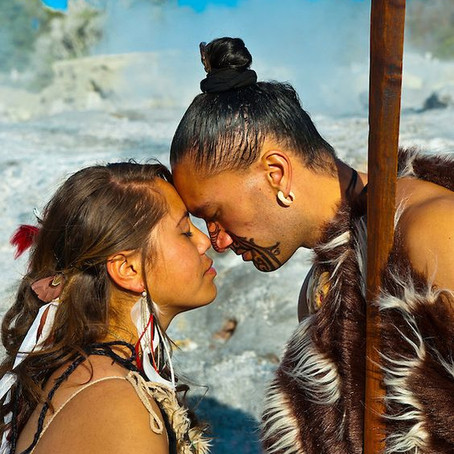 Hinemoa et Tutanekai