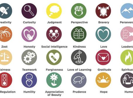 Como as forças de caráter influenciam nossa vida e felicidade?
