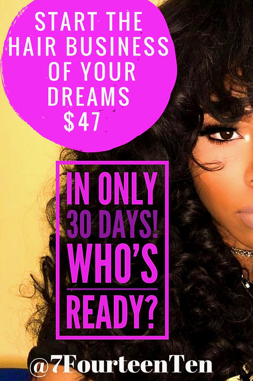 Start The Hair Business Of Your Dreams