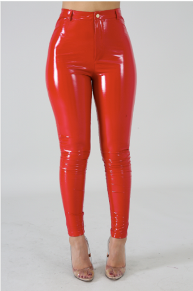 Tempting Pants RED