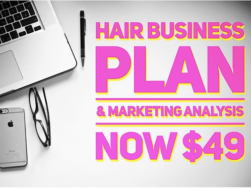Hair Business Plan & Marketing Analysis