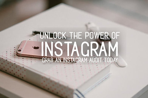 Instagram Brand Audit