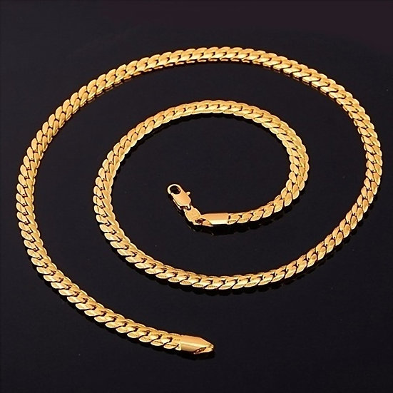 "18K Gold Plated Necklaces - 20"" or 21-½"""