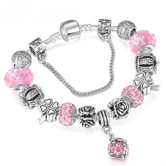 European Style Tibetan Crystal Charm Bracelets