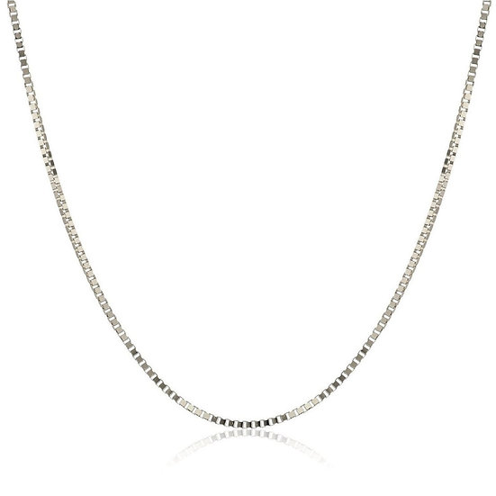 """925 Sterling Silver Italian Box Chains 16"""" 18"""" 20"""" 24"""" 2mm"""