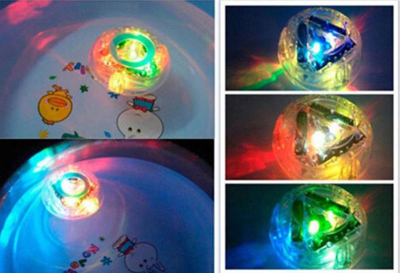Round Bathtubs LED light toy