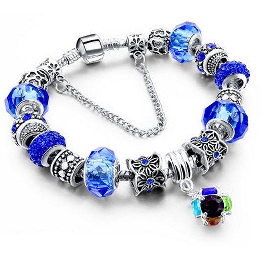 Crystal Charm Bracelets for Women