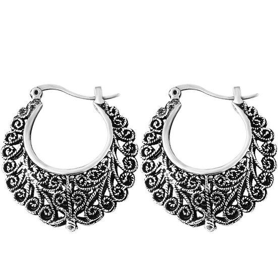 Retro Bohemian Hollow Earrings