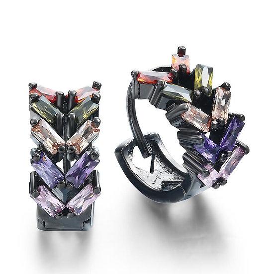 HuggieZircon Earrings