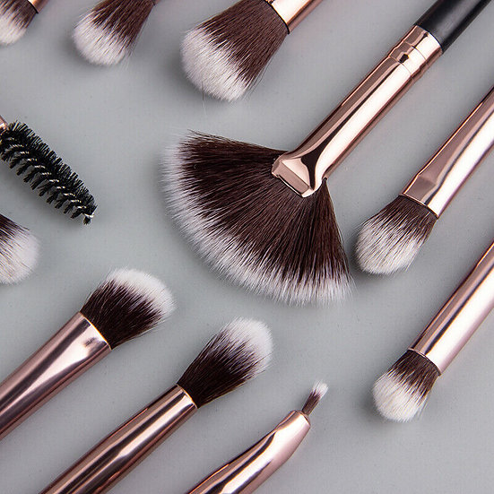 Eye Shadow Blending Makeup Brushes - 12 Piece Lot