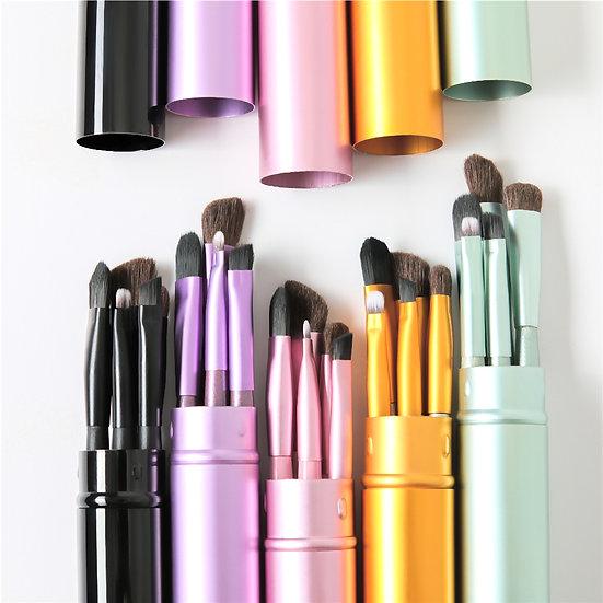 Portable Travel 5-Piece Mini Eye Makeup Brush Set