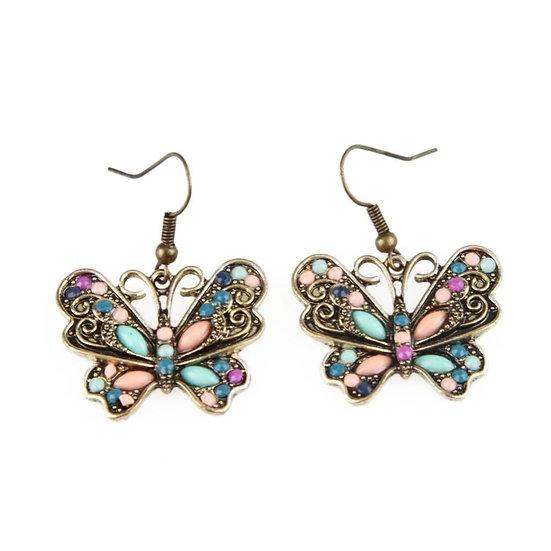 Unique Butterfly Shaped Earrings