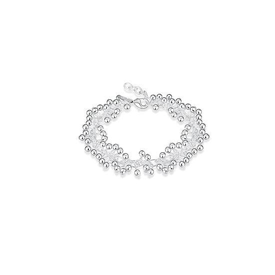 Sterling Silver Spring Bracelets - 4 Styles