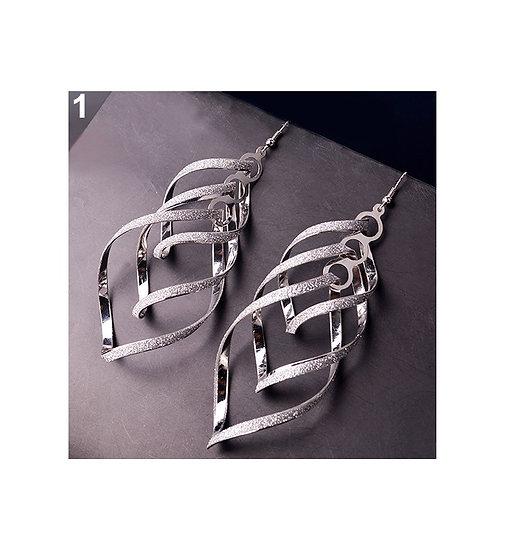 Multi-layer Spiral Drop Dangle Eardrop Hook Earrings