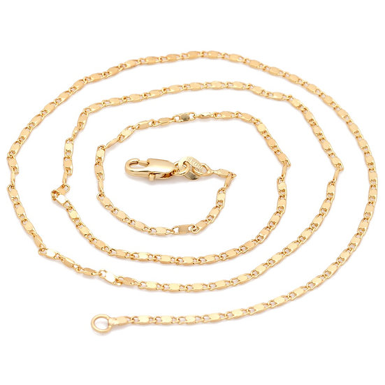 18K Gold Filled Smooth Chain
