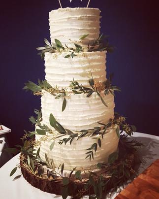 olive and eucalyptus wedding cake.jpg