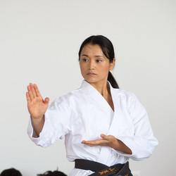 Natsumi Sugiyama Aikido New Orleans