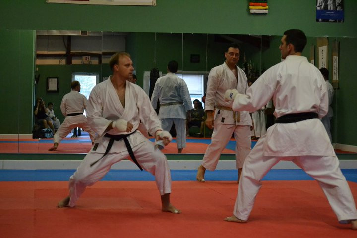 lesson in karate - New Orleans Shotokan Academy