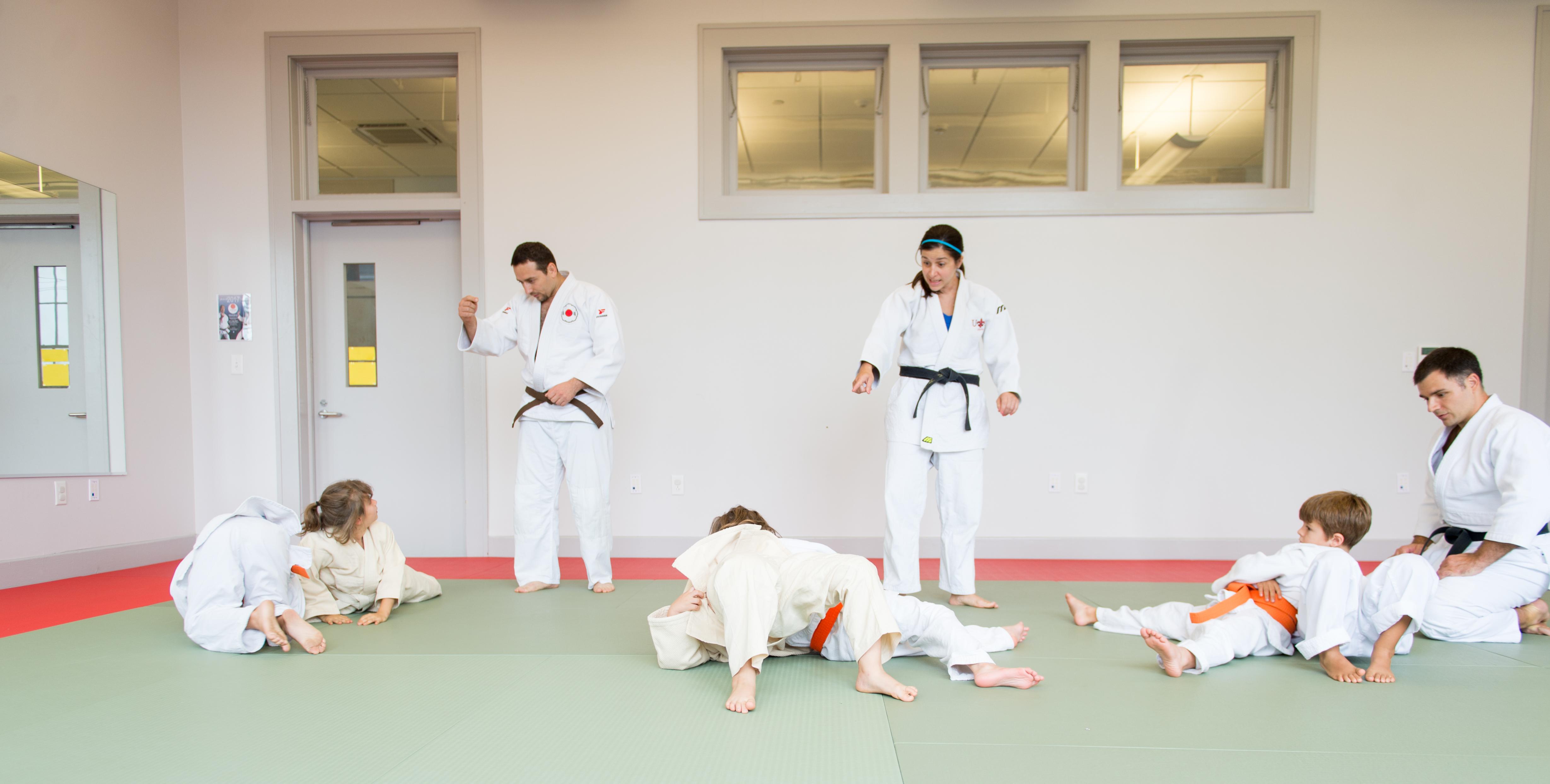 3 Judo Teachers