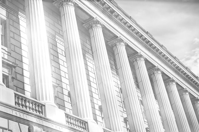 Columns of United States federal building