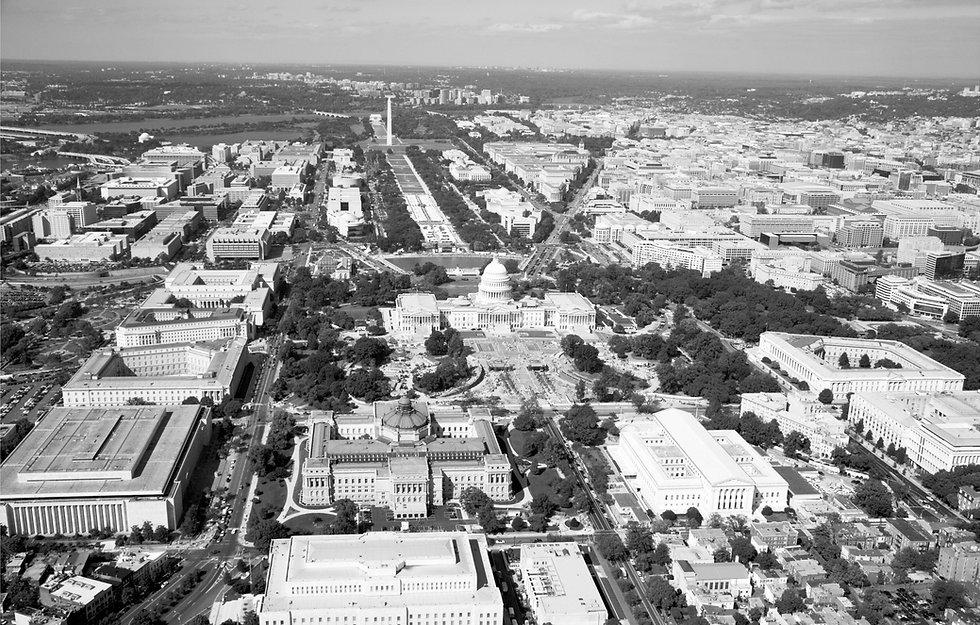 Washington District of Columbia Aerial View