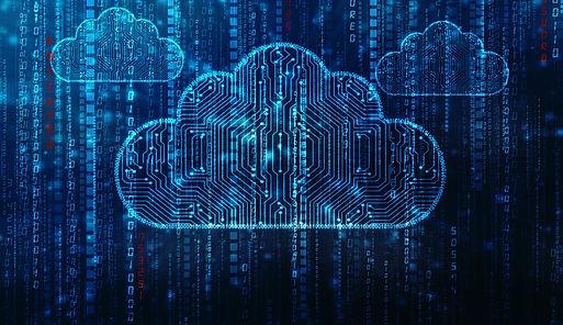 Salesforce cloud computing illustration