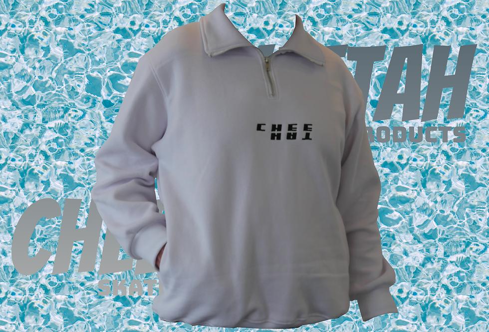 Cheetah white hoodie