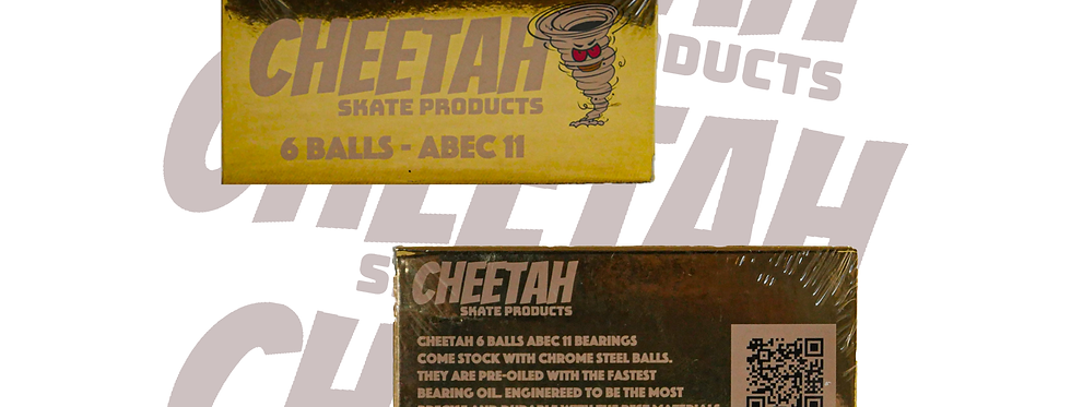 Cheetah 6 balls bearings