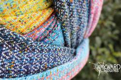 Wholeheartedly Marine Silk weft