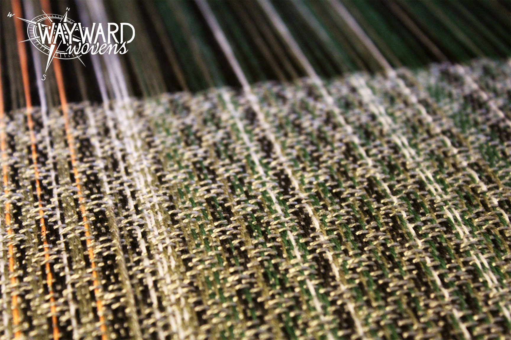 Woven cloth, light bamboo weft