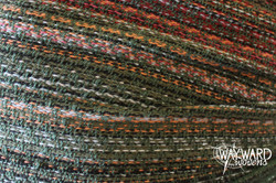 Woven wrap, green weft