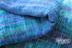 Woven cloth, folded