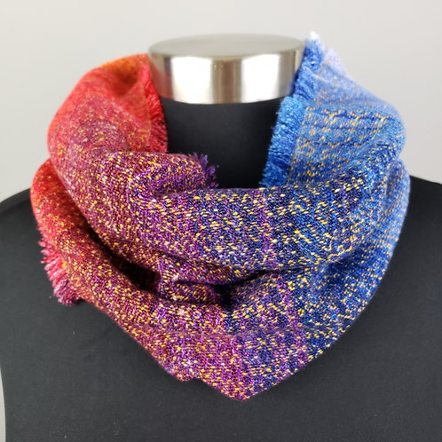 Going To The Sun Tall Single Loop Cowl