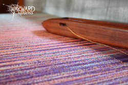 Weaving Tencel weft