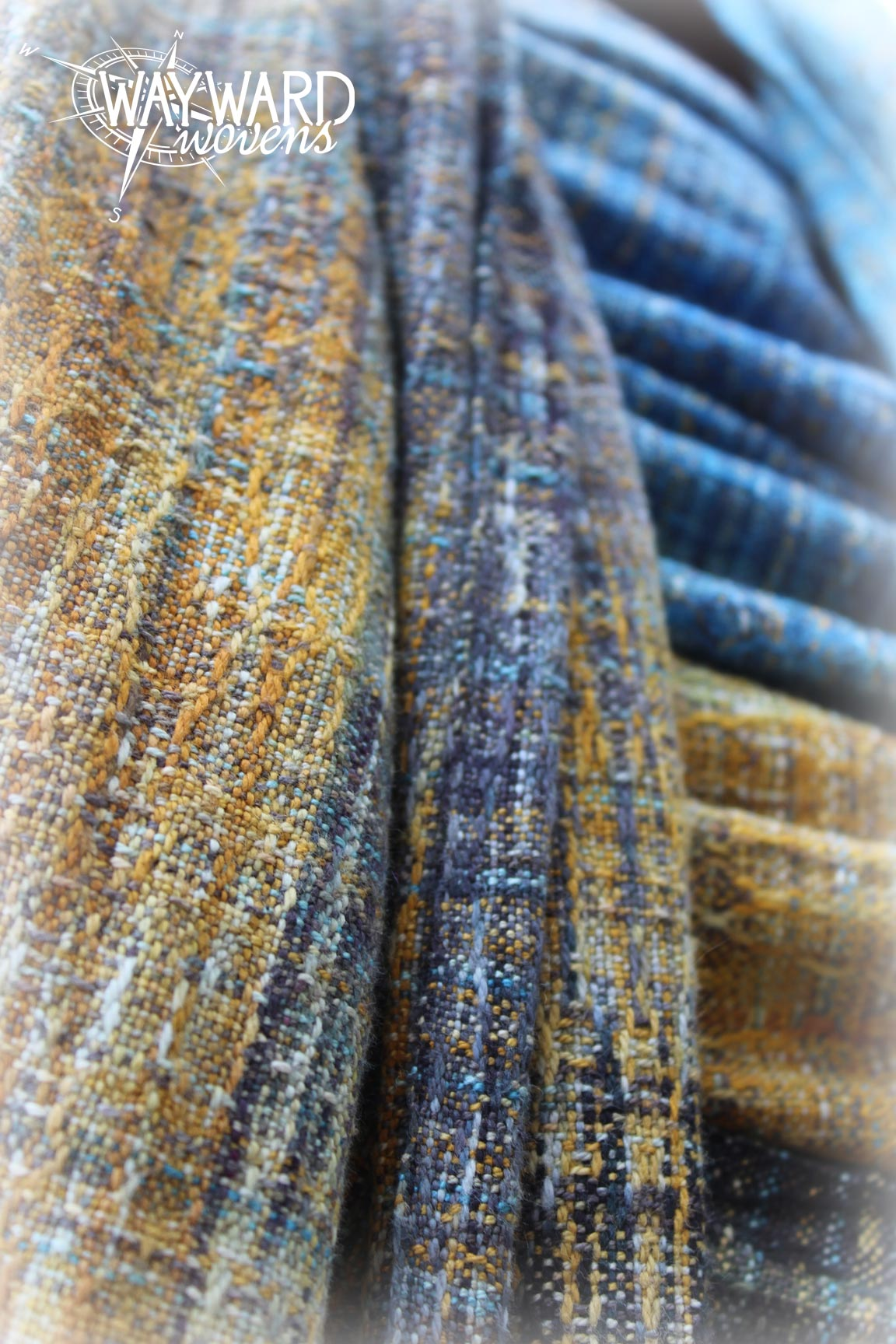 Woven wrap, close up