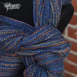 Marine Silk weft