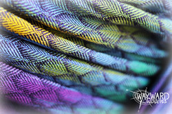 Close up image of woven fabric