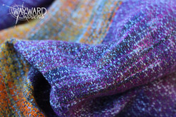 Woven wrap, gently gathered