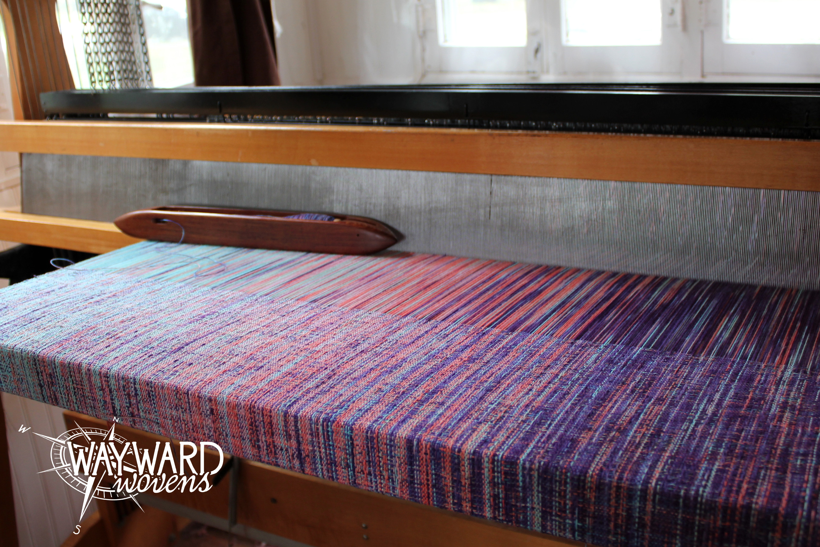 Weaving cottohemp weft