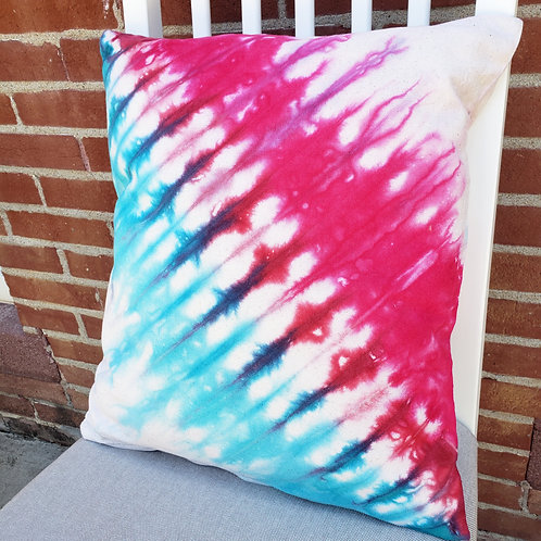 Hand dyed Pillow Cover