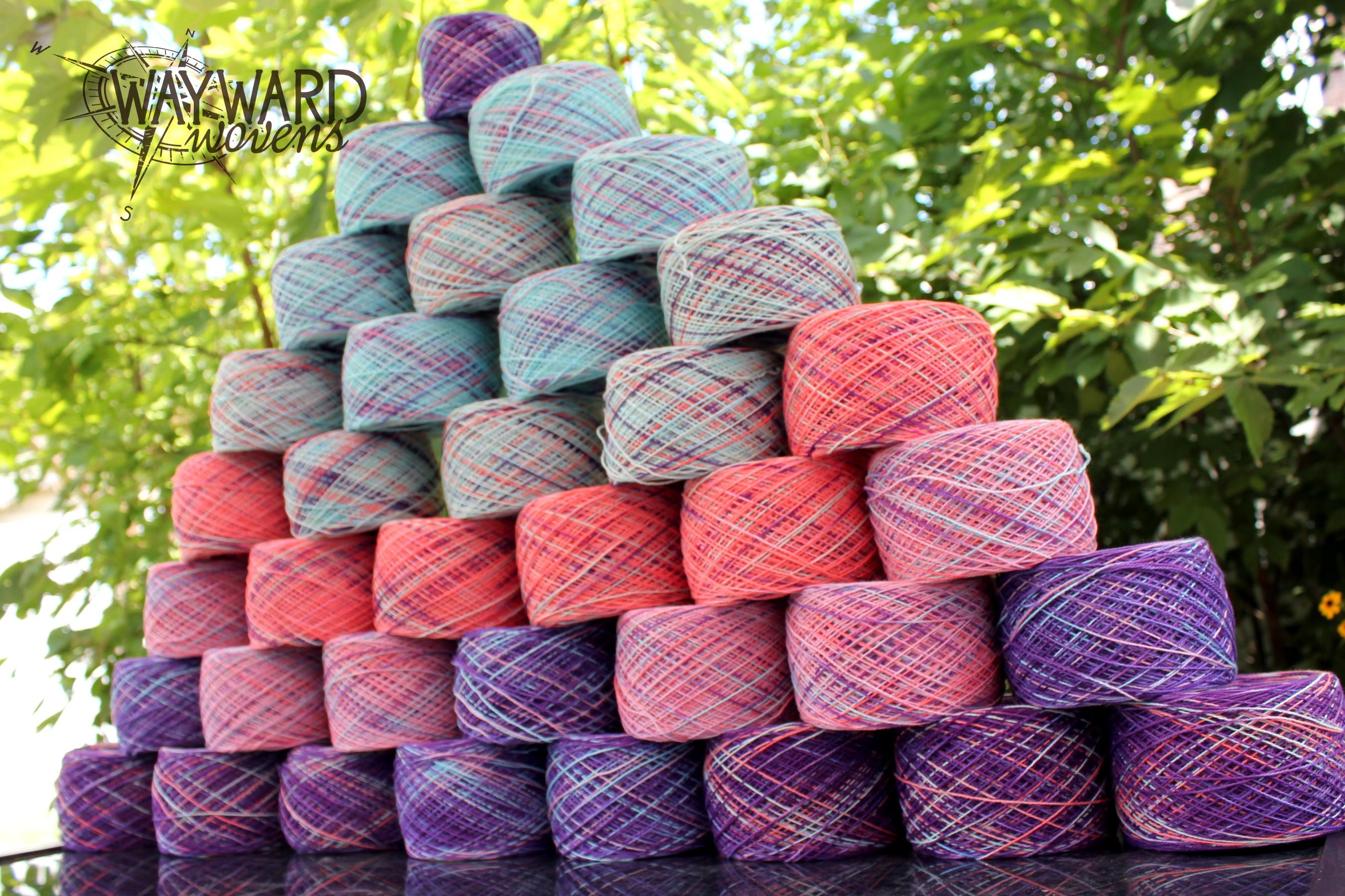 Yarn pyramid