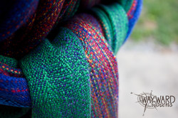 close up of knot