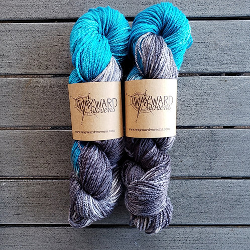 Oh Whale - Worsted Weight Superwash Wool yarn