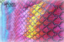 Flat shot of woven wrap