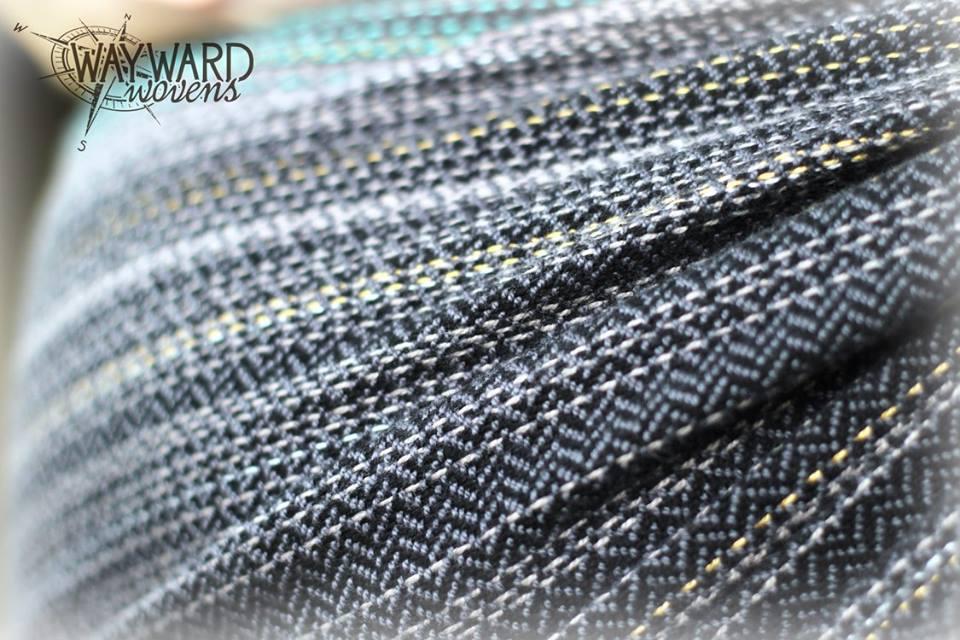Woven wrap, shoulder pass