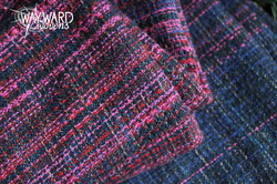 Woven wrap, blue weft