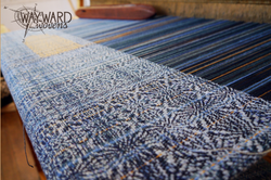 Woven cloth, clasped weft tower